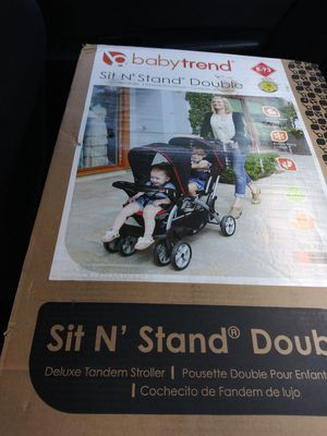 Sit and Stand Double STROLLER for Sale in Port St. Lucie, FL