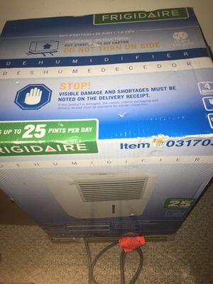 Frigidaire dehumidifier for Sale in Fairfax, VA