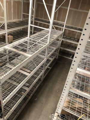 Heavy Duty Metal Shelves for Sale in Manteca, CA