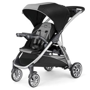 Chicco Bravo For 2 Double Stroller Zinc for Sale in Grand Prairie, TX
