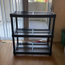 Storage Rack - Durable Industrial Plastic- $10 for Sale in Trabuco Canyon,  CA