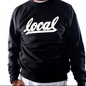 Adapt Brand Local II (Men's Black/White Crewneck Sweatshirt) for Sale in Fairfax, VA