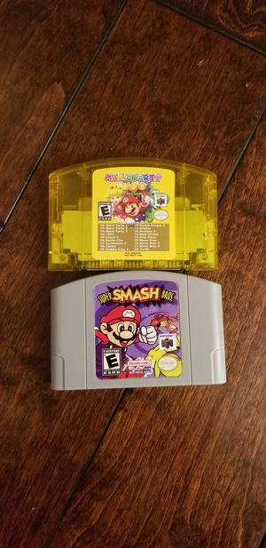 Nintendo 64 games for Sale in Westminster, CA