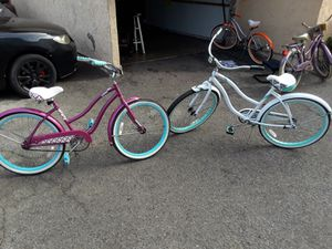 MOM AND DAUGHTER BEACH CRUISER 2 FOR 100 for Sale in Chula Vista, CA