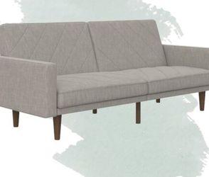 Brand New Gray (light) Split Convertible Couch for Sale in Sandy,  UT