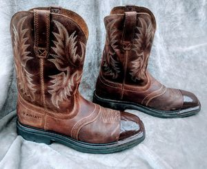 Ariat Men's Leather Work Boots Size 10.5 EE for Sale in Seattle, WA