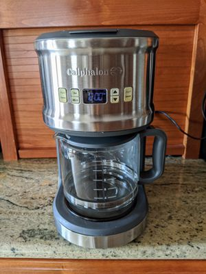 Calphalon Coffee Maker HE121CMG for Sale in Denver, CO
