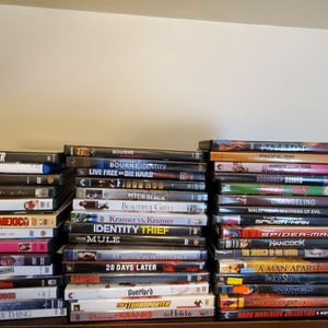 120 DVD Movies For Sale for Sale in Pittsburgh, PA