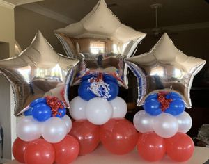 4th of July Decorations Balloon columns for Sale in Chandler, AZ