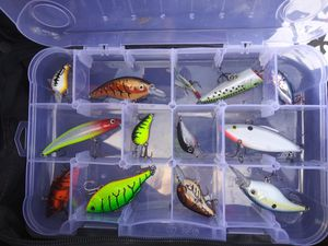 Fishing lures and MORE for Sale in Mesquite, TX