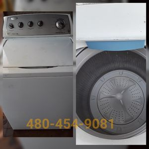 Whirlpool washer Top load for sale appliance repair n sells valley wide for Sale in Tempe, AZ