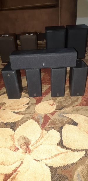 Audio Video and Stereo Equipment: speakers are Genesis media Labs realistic Advent Samsung and KLH. for Sale in Huntsville, AL
