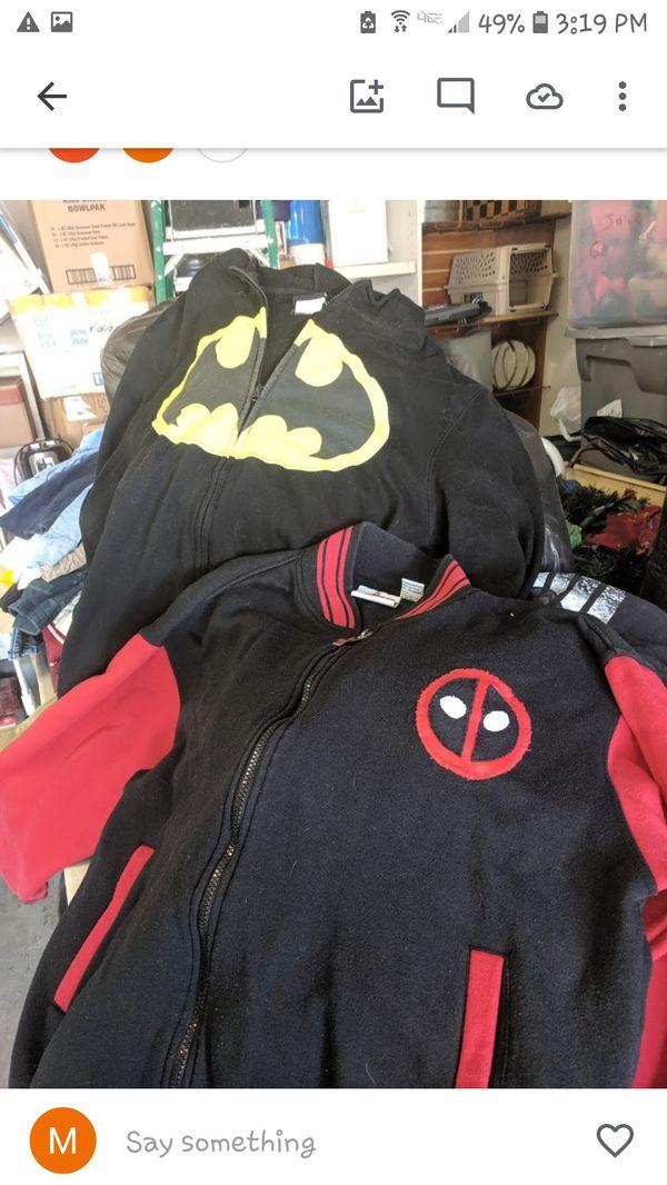 Batman and Deadpool Hoodie