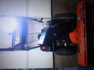 Snow blower 8 hp 26 8 speeds works great for Sale in Torrington, CT