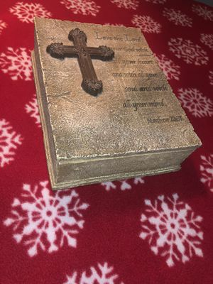 Holy bible storage box brand new never used for Sale in Ashburn, VA
