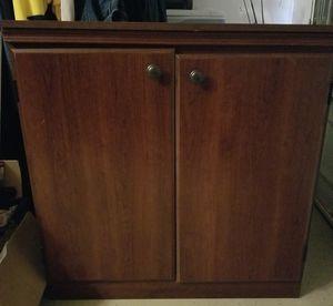 2 tier shelf cabinet for Sale in North Las Vegas, NV