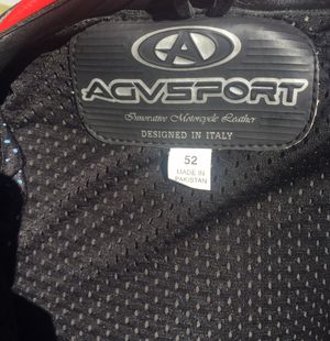 AGVSPORT motorcycle leather jacket and pants (2 pieces) for Sale in Pico Rivera, CA