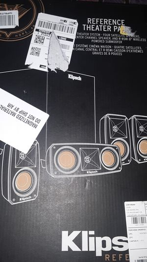 Klipsch Reference Theater Pack for Sale in Houston, TX