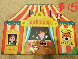 Janod story box circus for Sale in Placentia, CA
