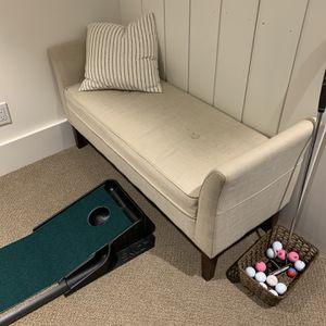 Bench Seat - Beige for Sale in Seattle, WA