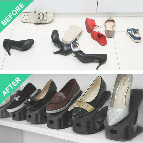 Firm Price! Brand New in a Package 8-Pack Shoe Slot Organizers, Located in North Park for Pick Up or Shipping Only!