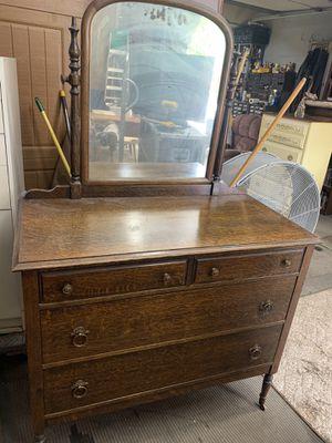 Tiger Oak dresser for Sale in Freedom, PA