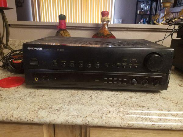 Pioneer receiver