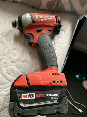 Milwaukee impact drill 18v for Sale in Los Angeles, CA