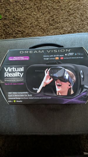 Virtual reality headset for Sale in Payson, AZ