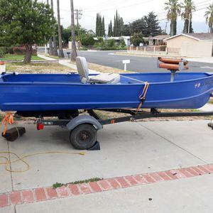 Sears aluminum boat (will trade for RIB boat) for Sale in Hacienda Heights, CA