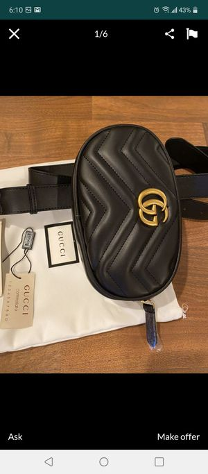 Gucci purse belt high quality leather for Sale in Los Angeles, CA