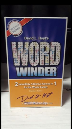 Word Winder Board Game for Sale in Buffalo, NY