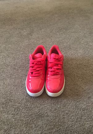 Pink leather patent Air Force 1s for Sale in Stockbridge, GA