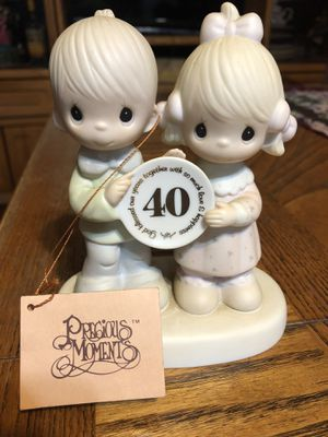 Precious moments 40 years together for Sale in Phoenix, AZ