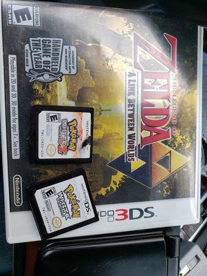 Nintendo 3ds xl Pokemon bundle for Sale in Mukilteo, WA
