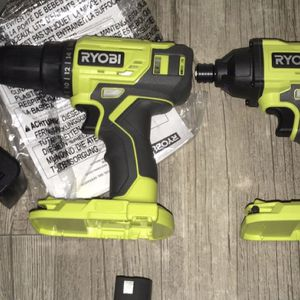 RYOBI 18 V Drill And Driver Set New!! With Tools for Sale in Plano, TX