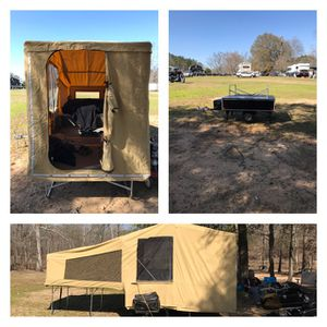 Pop up camper can be pulled by a motorcycle for Sale in Hiram, GA