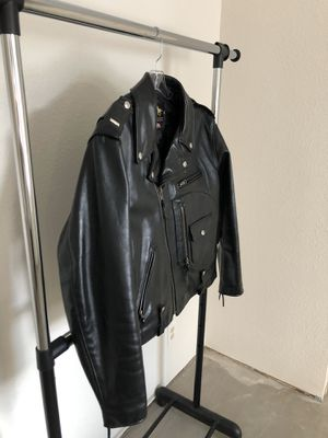 Horsehide leather Motorcycle Jacket for Sale in Georgetown, TX