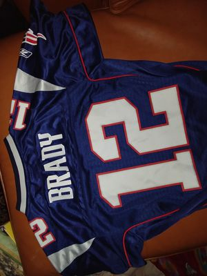 Tom Brady Patriots jersey large size 14-16 for Sale in Spring Valley, CA