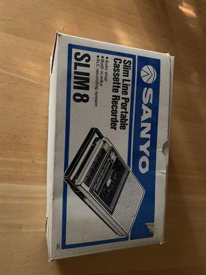 NIB Sanyo Recorder for Sale in Appomattox, VA