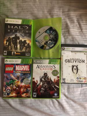 5 Xbox 360 games lot for Sale in North Ridgeville, OH