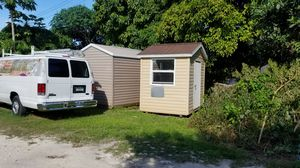 Shed 6x8 small office security for Sale in Miami, FL