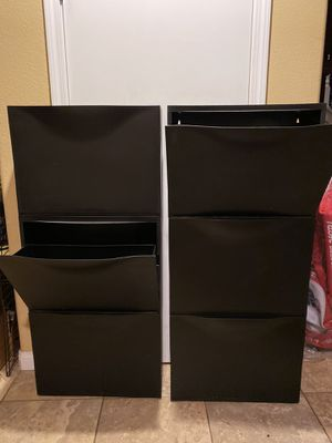 6 stackable storage containers for Sale in Rancho Cucamonga, CA