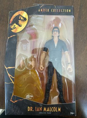 Mattel Jurassic Park Ian Malcom Amber Collection Action Figure for Sale in Egg Harbor Township, NJ