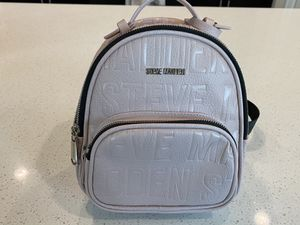 Steve Madden pink leather mini backpack for Sale in Orlando, FL