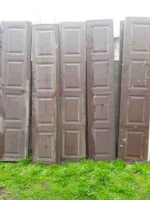 Garage door panels for Sale in Fresno, CA