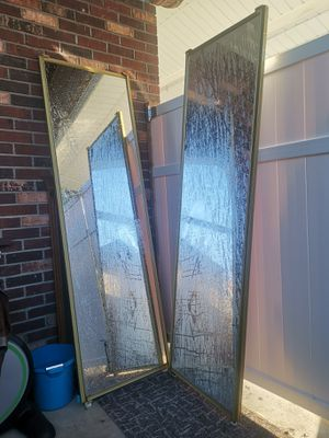 2 big glass cabinet doors for Sale in Ballwin, MO