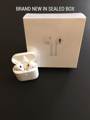i200 AIR PODS, EARPHONES, EARBUDS (BRAND NEW IN SEALED BOX) SECOND GENERATION SMART SENSOR REAL 3 🔋% POP UP WINDOW COMPATIBLE WITH iPHONE AND ANDROID for Sale in Lewisville, TX
