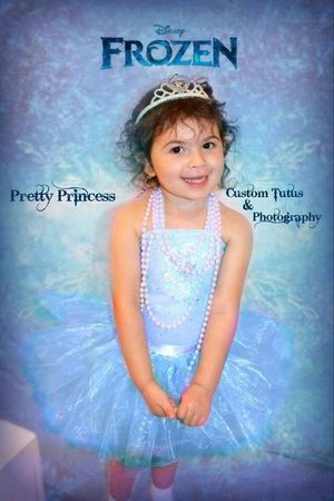 Custom Elsa tutu dress for Sale in Damascus, OR