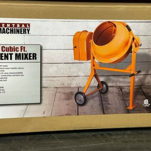 CENTRAL MACHINERY 3-1/2CUBIC FT CEMENT MIXER for Sale in Turlock, CA